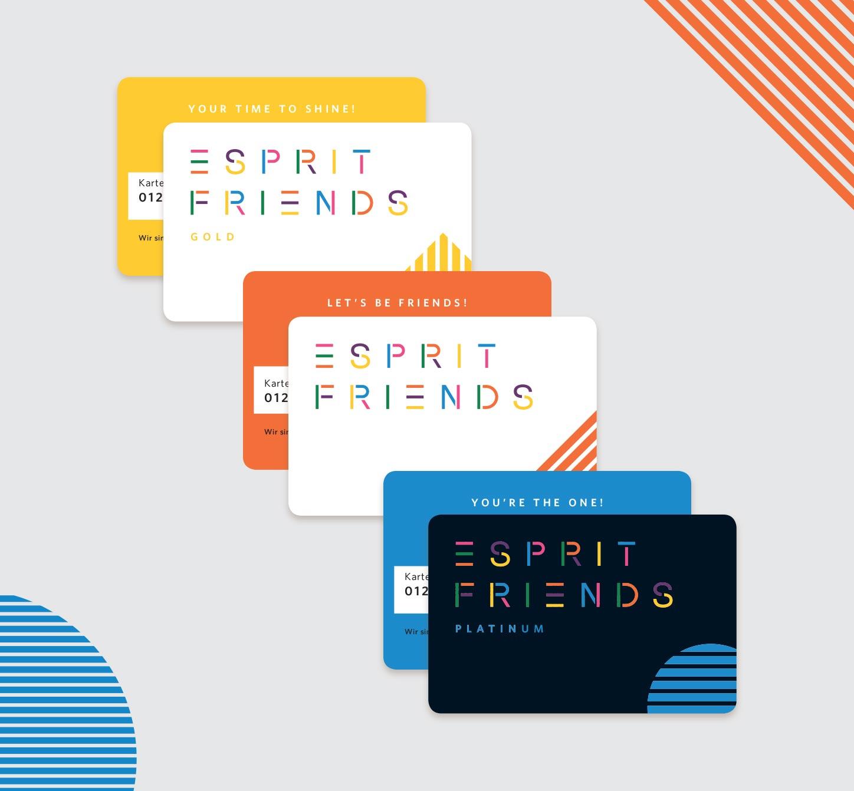 Aanmelden bij Mijn Esprit – Friends Cards